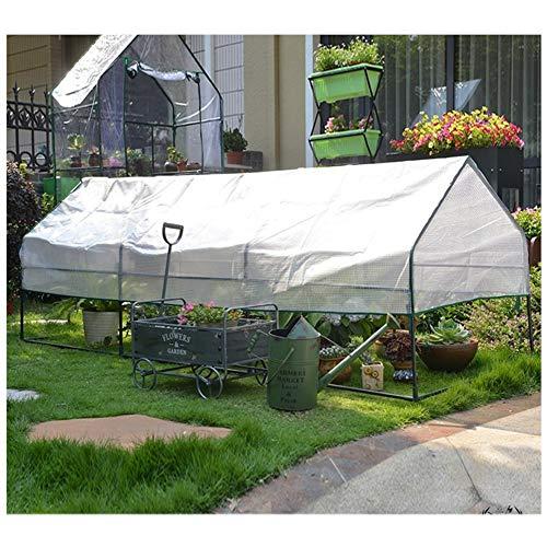 Gzhenh Invernaderos Huerto,Exterior Planta Flores Paño De Sombra Casa De Tomate Marco...