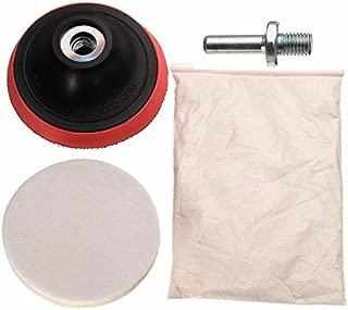 Desconocido Generic Car Polishing Kit Cerium Oxide Polishing Powder Felt Polishing Wheel Pad Drill Adapter