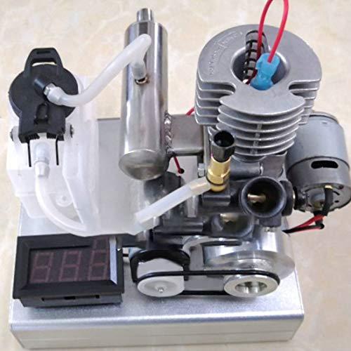 POXL Generatore di corrente a benzina, a un pulsante, a benzina, portatile, 2000 – 17000 giri min, 12 – 24 V a bassa tensione, 1000 mA
