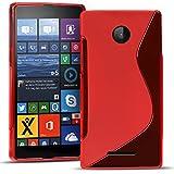 Conie SC19466 S Line Case Kompatibel mit Microsoft Lumia