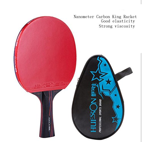Paleta profesional de tenis de mesa, raqueta...