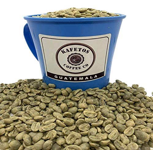 Kafetos Green Coffee Beans, Single Origin Unroasted Coffee Beans, Specialty Grade Directly From Our Fourth-Generation Family Farm in Guatemala, 100% Raw Arabica Coffee Beans, Fresh & Delicious(5 lbs)