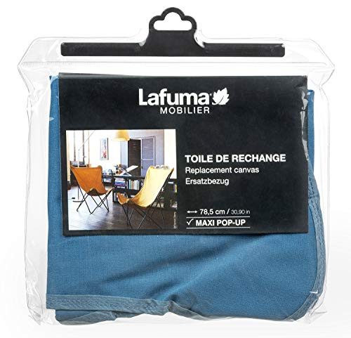 Lafuma vervangende batyline hoes voor klapstoel Maxi Pop Up blauw