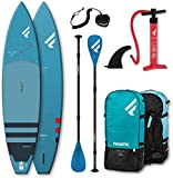 Fanatic Ray Air Touring SUP Set Fly Air SUP Board, Pure Paddel und Leash 2020