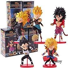 Wcf Super Dragon Ball Heroes Vol.2 Super Saiyan Broly Son Goku Vegeta Figura de Acción PVC Juguetes para Niños para Niños Regalos 5 Piezas/Set, con Caja al por Menor