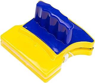 WJQ 6 Magnetic Glass Cleaner,Magnetic Aquarium Fish Tank Glass Algae scrapers Glass Cleaner, Scrubber Clean Brush Floating,Scratch-Free,Non-Slip,magnetizing