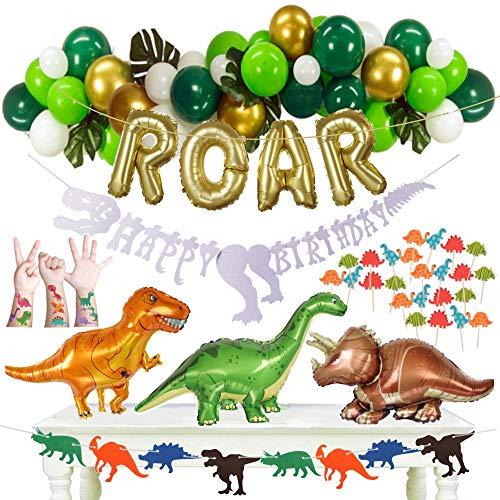 115pc Dinosaur Party Supplies - Dec…
