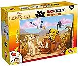 Lisciani- Lion King Puzzle Doubleface Supermaxi Disney Rey León, Multicolor (74105)