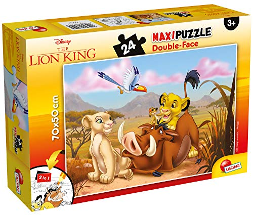 Lisciani Giochi Disney Puzzle Supermaxi 24, Lion King, 74105