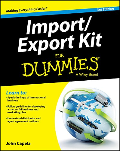 Compare Textbook Prices for Import / Export Kit For Dummies 3 Edition ISBN 9781119079675 by Capela, John J.
