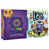 Luma World Terra Loop 4 in 1 Educational Board STEM Activity Kit for 8+ Years to Learn Numeracy, Patterns, Money and Life Skills 300+ Hours of Conceptual Activities for Overall Development of Kids