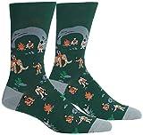 Sock It To Me Herren-Crew Socken - Mannshöhle (EU Größe: 38-46)