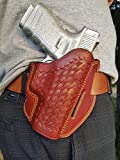 DAZZLING Pro | Leather OWB Holster Handmade for Glock 19 and 17