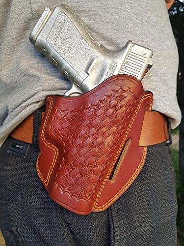 Dazzling Pro   Leather OWB Holster Handmade for Glock 19 and 17