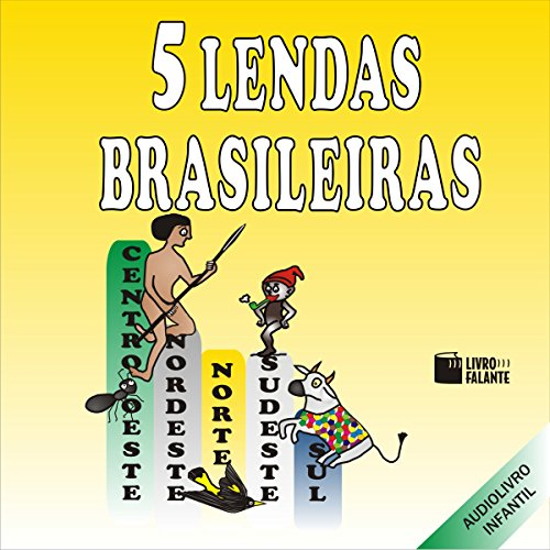5 Lendas Brasileiras                   By:                                                                                                                                 Livro Falante                               Narrated by:                                                                                                                                 Di Ramon,                                                                                        Marcia Oshiro,                                                                                        Anália Martins,                   and others                 Length: 1 hr and 8 mins     10 ratings     Overall 4.7