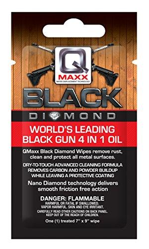 QMAXX Diamond Gun Wipes (20 Pack), Black
