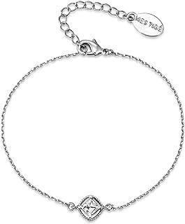 Mestige Women's Jolie Bracelet with Swarovski Crystals