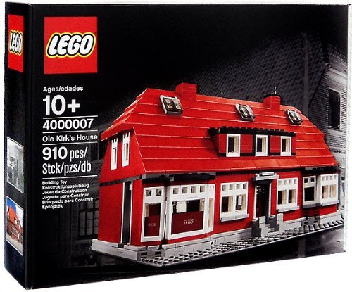 LEGO Exclusive Set #4000007 Ole Kirk's House by LEGO