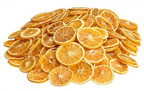 NaDeco Orangen Scheiben getrocknet 500g Getrocknete Orangenscheiben Weihnachtsdekoration Adventsdekoration Bastel Material für die Weihnachtszeit