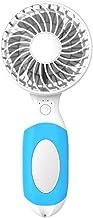 YAOHEHUA Handheld USB draagbare mini opladen kleine ventilator met mini make-up spiegel & fan beugel home Office Outdoor fan