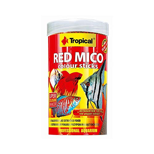 Tropical Red Mico Colour Sticks gefriergetrocknete Blutwürmer, 1er Pack (1 x 250 ml)
