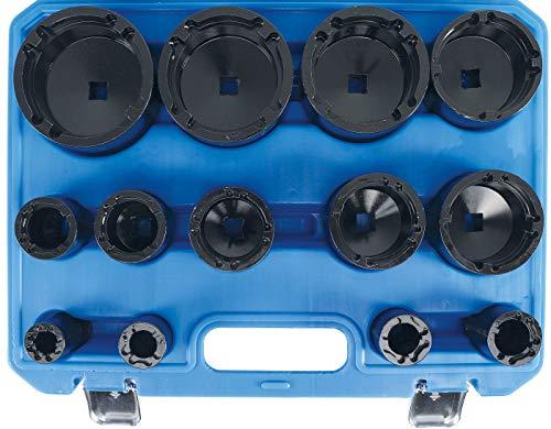 BGS 9385 | Jeu de clés à écrous | pivot intérieur | KM0 – KM12 | 13 pièces