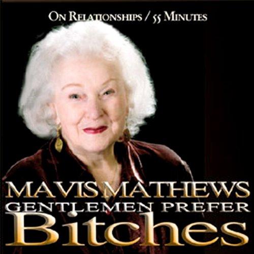 Gentlemen Prefer Bitches audiobook cover art
