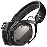 V-MODA Crossfade Wireless Casque Audio Supra-Auriculaire Sans Fil, Bluetooth- Noir Gunmetal