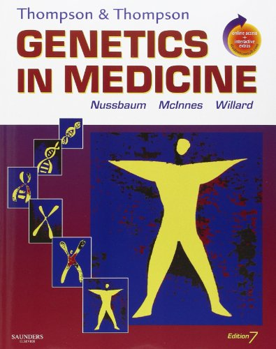 Thompson & Thompson Genetics in Medicine: With STUDENT CONSULT Online Access (Thompson and Thompson Genetics in Medicine)