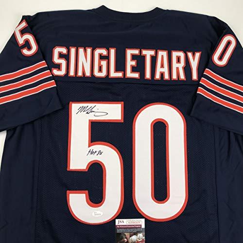 Mike Singletary (Chicago Bears) Signed Autographed Mini Helmet (PSA/DNA COA)