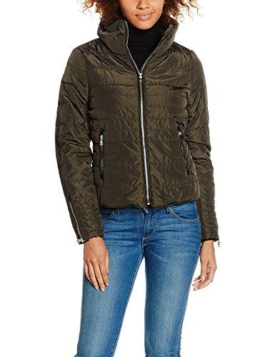 VERO MODA Damen Jacke Vmlulu Short Jacket A, Grün (Peat), 42 (Herstellergröße: XL)