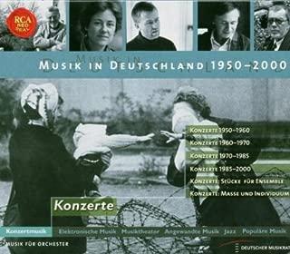 Musik in Deutschland 1950-2000 Konzerte Concertos