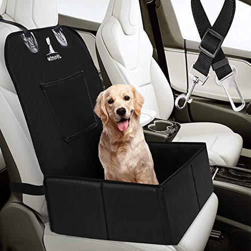 Wimypet Seggiolino Auto per Cani Impermeabile, Antiscivolo Seggiolino Auto Cane, Trasportino Cane Auto Facile da Installare (Tipo 2)