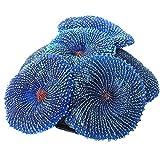 finebrand Coral Artificial Falso Fish Tank Paisaje Coral Plantas del Acuario Decoración del Ornamento Azul