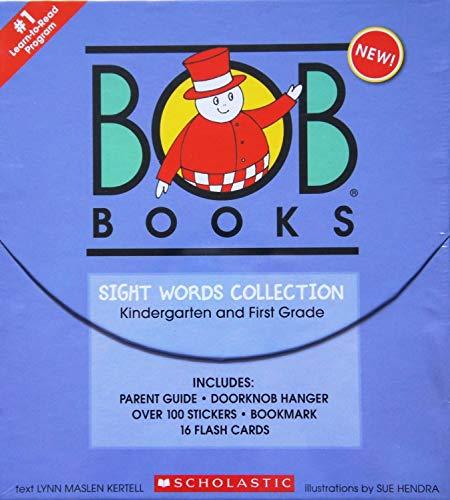 scholastic book sets Scholastic BOB Books Sight Words Collection Book Box Set [Kindergarten & First Grade]