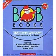 Scholastic BOB Books Sight Words Collection Book Box Set [Kindergarten & First Grade]