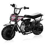 Monster Moto - Gas Mini Bike - 80CC/2.5HP without Suspension (MM-B80-LB)(Black Legends Blaze)