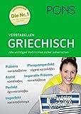 PONS Verbtabellen Griechisch: Alle wichtigen Verbformen sicher beherrschen - PONS GmbH