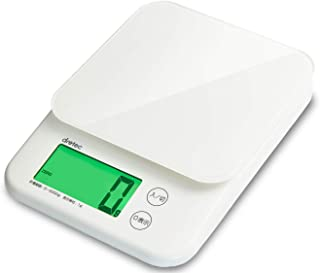 dretec(ドリテック) キッチンスケール デジタル 5kg/1g単位 KS-513WT ホワイト