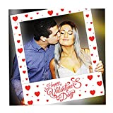 aahs!! Engraving Valentine's Day Party Frame Photo Prop, 35 X 30 inches (Happy...