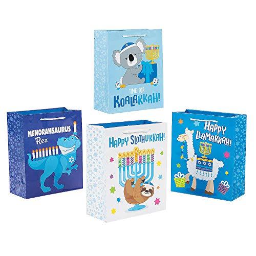 Hanukkah Animal Gift Bags (set of 12)