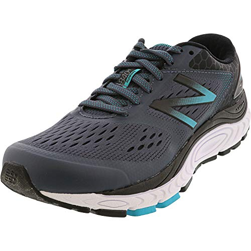 New Balance Women's 840v4 Running Shoe, Dark Grey, 8 D US