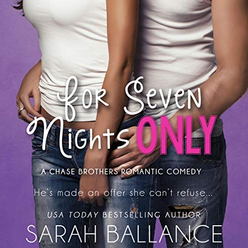 For Seven Nights Only cover art