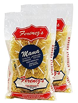 Ferencz s Kosher Extra Fine Egg Noodles 10.5-ounce Bags  Pack of 2