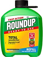 Roundup 112113 Fast Action Total Weedkiller 5L Refill