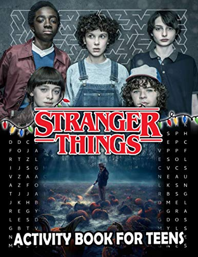 Stranger Things Activity Book For Teens: Coloring, Puzzle, M