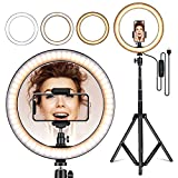 with Mirror Photography Mcoplus Makeup Ring Light,14 inch Ring Light Without Stand with Phone Holder for YouTube,Selfie,Makeup,Live Stream