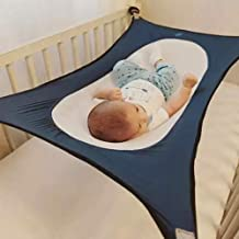 HILTOW Baby Hammock for Crib Wombs Bassinet Hammocks Bed Absolutely Safe Nursery Bed Travel Snug Breathable Net - Upgraded Safety Measures