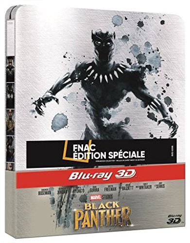 Black Panther - 3d + 2d - Steelbook - Limited Edition [Blu-ray] 3D + 2D