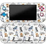 Cavka Vinyl Decal Skin Compatible with Console Switch Lite (2019) Stickers with Design Funny Cats Wrap Cats Full Set Cute Print Durable Pattern Cover Animals Protector Drawing Faceplate Meow Classy